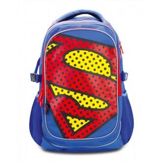 Superman/POP - Školní batoh s pončem