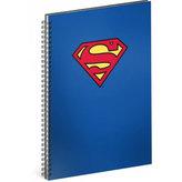 Blok - Superman/Blue, A4 linkovaný,spirálový