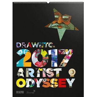 Kalendář nástěnný 2017 - Artist Odyssey /DRAWetc.