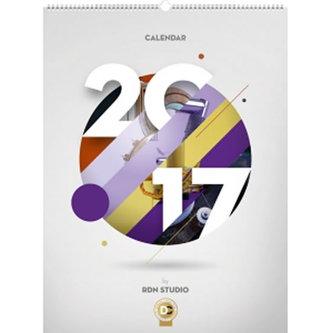 Kalendář nástěnný 2017 - Calendar /Rdn Studio