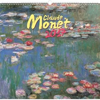 Kalendář nástěnný 2017 - Claude Monet