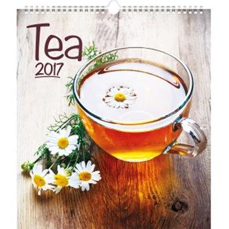 Kalendář nástěnný 2017 - Čaj