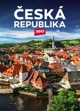Kalendář nástěnný 2017 - Česká republika