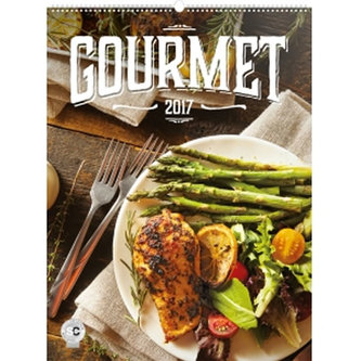 Kalendář nástěnný 2017 - Gourmet - neuveden