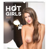 Kalendář nástěnný 2017 - Hot Girls/Martin Šebesta