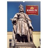 Kalendář nástěnný 2017 - Karel IV./Země Koruny české