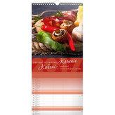 Kalendář nástěnný 2017 - Koření