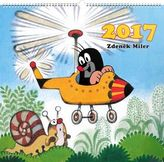 Kalendář nástěnný 2017 - Krteček