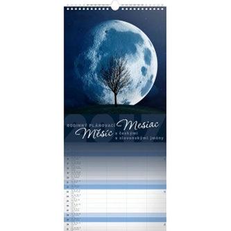 Kalendář nástěnný 2017 - Měsíc