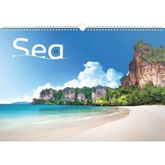 Kalendář nástěnný 2017 - Moře