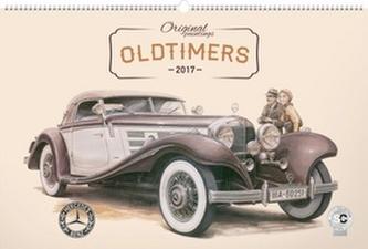 Oldtimers - nástěnný kalendář 2017