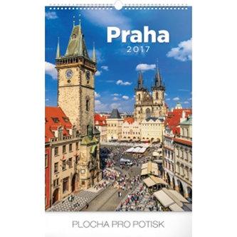 Kalendář nástěnný 2017 - Praha