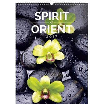 Kalendář nástěnný 2017 - Spirit of Orient