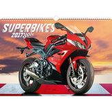 Kalendář nástěnný 2017 - Superbikes