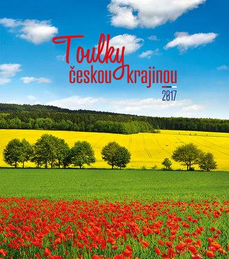 Kalendář nástěnný 2017 - Toulky českou krajinou