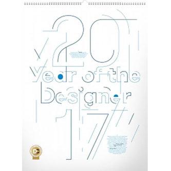Kalendář nástěnný 2017 - Year of the Designer/Okolo