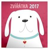 Kalendář plánovací 2017 - Zvířátka
