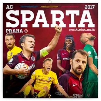 Kalendář poznámkový 2017 - AC Sparta Praha