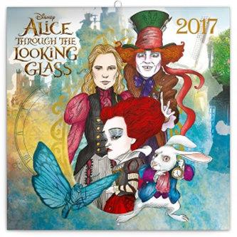 Kalendář poznámkový 2017 - Alenka v říši divů: Za zrcadlem