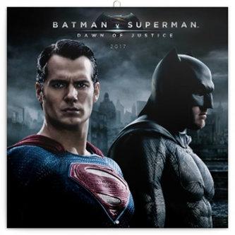 Kalendář poznámkový 2017 - Batman v Superman