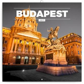 Kalendář poznámkový 2017 - Budapešť