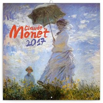 Kalendář poznámkový 2017 - Claude Monet