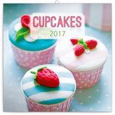 Kalendář poznámkový 2017 - Cupcakes