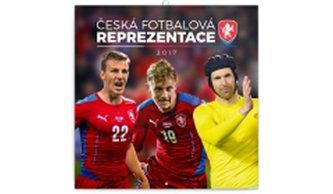 Česká fotbalová reprezentace - nástěnný kalendář 2017