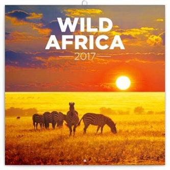 Kalendář poznámkový 2017 - Divoká Afrika