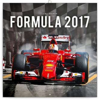 Kalendář poznámkový 2017 - Formule/Jiří Křenek