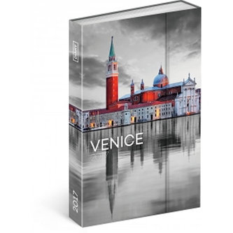 Diář 2017 - Benátky - týdenní