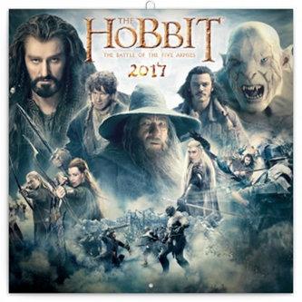 Kalendář poznámkový 2017 - Hobbit