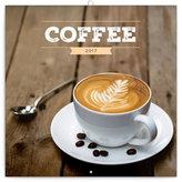 Kalendář poznámkový 2017 - Káva, voňavý