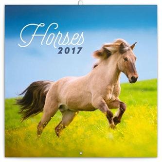 Kalendář poznámkový 2017 - Koně/Christiane Slawik