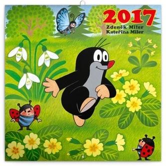 Kalendář poznámkový 2017 - Krteček