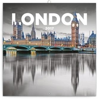 Kalendář poznámkový 2017 - Londýn