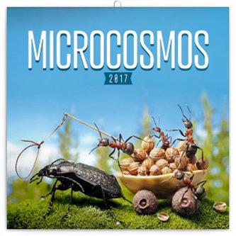 Kalendář poznámkový 2017 - Mikrokosmos