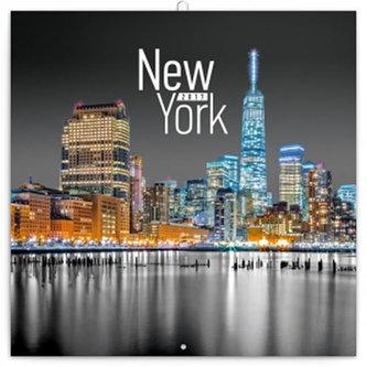 Kalendář poznámkový 2017 - New York/Jakub Kasl
