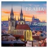 Kalendář poznámkový 2017 - Praha nostalgická
