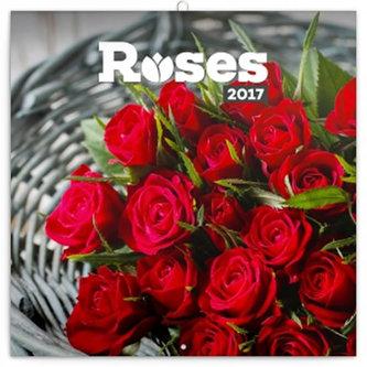 Kalendář poznámkový 2017 - Růže, voňavý