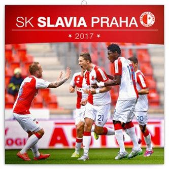 SK Slavia Praha - nástěnný kalendář 2017