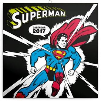 Kalendář poznámkový 2017 - Superman