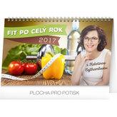 Kalendář stolní 2017 - Fit po celý rok s Kateřinou Cajthamlovou