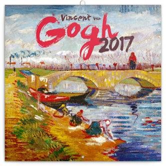 Kalendář poznámkový 2017 - Vincent van Gogh