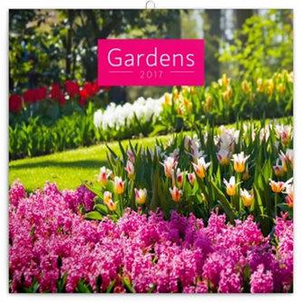 Kalendář poznámkový 2017 - Zahrady