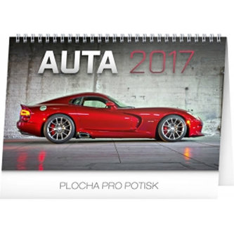 Kalendář stolní 2017 - Auta