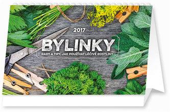 Kalendář stolní 2017 - Bylinky rady a tipy
