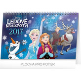 Kalendář stolní 2017 - Frozen/Ledové království