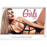 Kalendář stolní 2017 - Girls