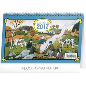 Kalendář stolní 2017 - Josef Lada/Podzim